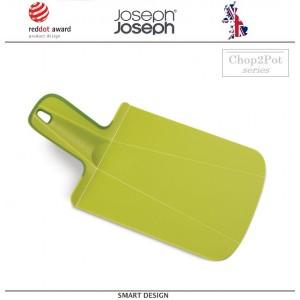 Малая доска разделочная складная Chop2pot™ Plus зеленая, Joseph Joseph, Великобритания, арт. 12536, фото 1