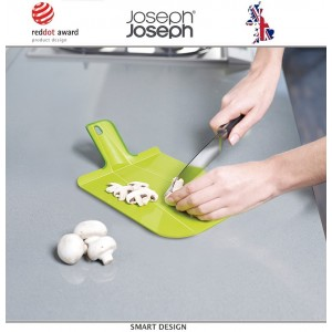 Малая доска разделочная складная Chop2pot™ Plus зеленая, Joseph Joseph, Великобритания, арт. 12536, фото 3