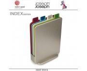 Набор разделочных досок Index Mini в серебристом кейсе, 5 предметов, Joseph Joseph, Великобритания