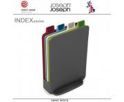 Набор разделочных досок Index Mini в кейсе графит, 5 предметов, Joseph Joseph, Великобритания