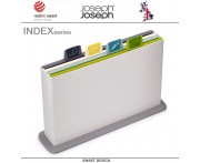 Набор разделочных досок INDEX & APOS, 5 предметов, опал, Joseph Joseph, Великобритания