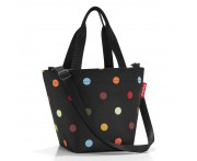 Сумка shopper xs dots, L 31 см, W 16 см, H 21 см, Reisenthel, Германия