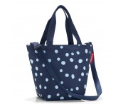 Сумка shopper xs spots navy, L 31 см, W 16 см, H 21 см, Reisenthel, Германия
