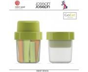 Ланч-бокс GoEat для перекусов, зеленый, Joseph Joseph, Великобритания