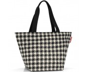 Сумка shopper m fifties black, L 51 см, W 26 см, H 30,5 см, Reisenthel, Германия