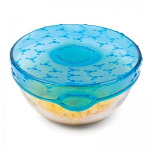 Упаковка для продуктов coverblubber большая голубая, L 10,2 см, W 10,2 см, H 6 см, Fusionbrands, Тайвань, арт. 17093, фото 7