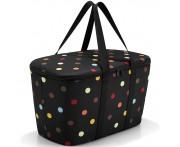 Корзина-Термосумка coolerbag dots, L 44,4 см, W 25 см, H 24,5 см, Reisenthel, Германия