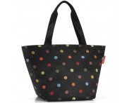 Сумка shopper m dots, L 51 см, W 26 см, H 30,5 см, Reisenthel, Германия