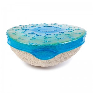 Упаковка для продуктов coverblubber большая голубая, L 10,2 см, W 10,2 см, H 6 см, Fusionbrands, Тайвань, арт. 17093, фото 6