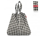 Сумка складная mini maxi shopper fifties black, L 43,5 см, W 7 см, H 60 см, Reisenthel, Германия