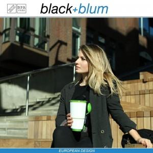 Lunch Pot ланч-бокс 2 в 1, 300 и 500 мл, черно-красный, Black+Blum, арт. 12177, фото 8