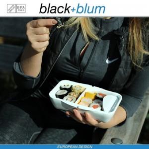 Bento Box Appetit ланч-бокс с разделителем, черный-красный, Black+Blum, арт. 12171, фото 8