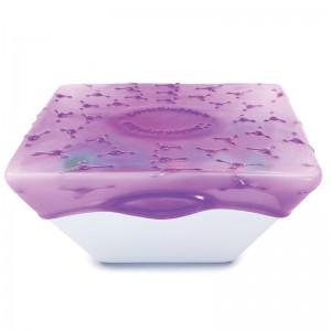 Упаковка для продуктов coverblubber большая фиолетовая, L 12 см, W 12 см, H 7 см, Fusionbrands, Тайвань, арт. 17094, фото 7