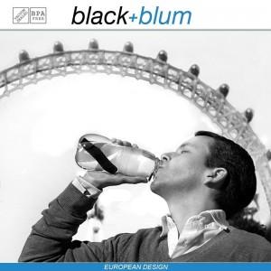 Eau Good эко-бутылка для воды с угольным фильтром, 600 мл, голубой, Black+Blum, арт. 12134, фото 10