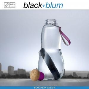 Eau Good эко-бутылка для воды с угольным фильтром, 600 мл, фиолетовый, Black+Blum, арт. 12137, фото 2
