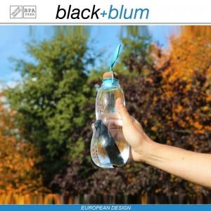 Eau Good эко-бутылка для воды с угольным фильтром, 600 мл, голубой, Black+Blum, арт. 12134, фото 6