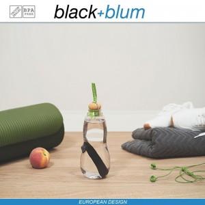 Eau Good эко-бутылка для воды с угольным фильтром, 600 мл, голубой, Black+Blum, арт. 12134, фото 8