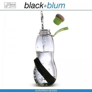 Eau Good эко-бутылка для воды с угольным фильтром, 600 мл, лайм, Black+Blum, арт. 12136, фото 11