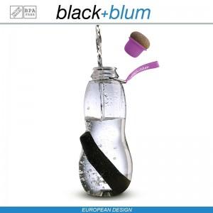 Eau Good эко-бутылка для воды с угольным фильтром, 600 мл, фиолетовый, Black+Blum, арт. 12137, фото 11