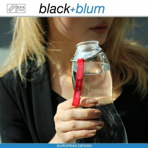 Eau Good эко-бутылка для воды с угольным фильтром, 600 мл, красный, Black+Blum, арт. 12135, фото 6