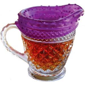 Упаковка для продуктов coverblubber большая фиолетовая, L 12 см, W 12 см, H 7 см, Fusionbrands, Тайвань, арт. 17094, фото 5
