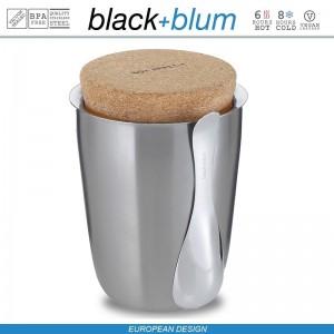 Thermo Pot ланч-бокс-термос для горячего, 500 мл, сталь, Black+Blum, арт. 12126, фото 2
