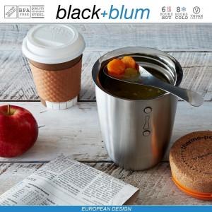 Thermo Pot ланч-бокс-термос для горячего, 500 мл, сталь, Black+Blum, арт. 12126, фото 4