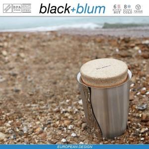 Thermo Pot ланч-бокс-термос для горячего, 500 мл, сталь, Black+Blum, арт. 12126, фото 5