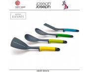Набор кухонных инструментов Elevate, 4 шт, Joseph Joseph, Великобритания