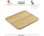 Большая доска Chop2pot складная, бамбук, Joseph Joseph, Великобритания