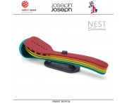 Набор антипригарных кухонных инструментов NEST Store, 5 предметов на подставке, Joseph Joseph, Великобритания