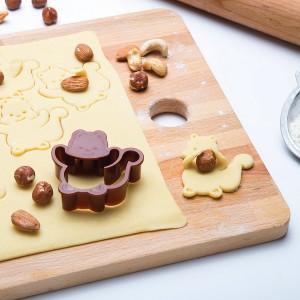 Вырубка для печенья Nutter, пластик, Monkey Business, Израиль, арт. 76619, фото 5