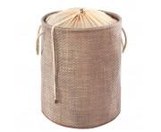 Корзина для белья, детских игрушек и других вещей (мягкая) коричневая, Casy Home
