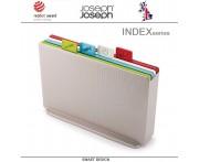 Набор разделочных досок INDEX 17, 5 предметов, серебристый, Joseph Joseph, Великобритания