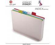 Набор разделочных досок INDEX 17 большой, 5 предметов, серебристый, Joseph Joseph, Великобритания