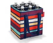 Сумка-органайзер для бутылок bottlebag artist stripes, Reisenthel