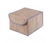 Коробка для хранения с крышкой синяя bo-011, Casy Home