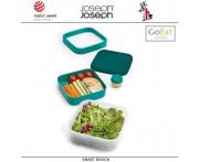 Ланч-бокс GoEat для салатов компактный, изумрудный, Joseph Joseph, Великобритания
