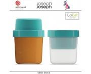Ланч-бокс GoEat для супа компактный, изумрудный, Joseph Joseph, Великобритания