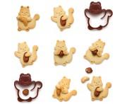 Вырубка для печенья Nutter, пластик, Monkey Business, Израиль
