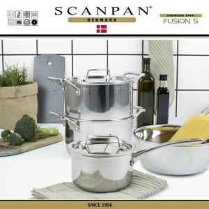 Сковорода Fusion5, D 28 см, индукционное дно, сталь 18/10, SCANPAN, Дания, арт. 87927, фото 5