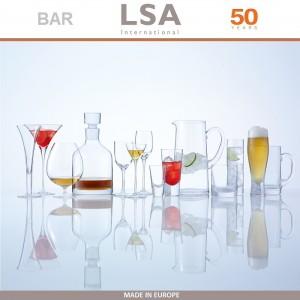 Бокалы Bar для пива ручной выдувки, 4 шт по 400 мл, LSA, арт. 86965, фото 8