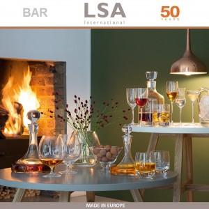 Бокалы Bar для пива ручной выдувки, 4 шт по 400 мл, LSA, арт. 86965, фото 5