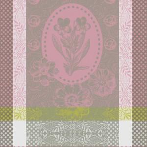 Полотенце кухонное 57х77 см, 100% хлопок, цвет серо-розовый, серия Teatowel, GARNIER-THIEBAUT, Франция, арт. 1245, фото 2
