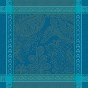 Салфетка 55/55 см, 100% хлопок, цвет изумрудный, декор Emeraude, серия Isaphire, GARNIER-THIEBAUT, Франция, арт. 1200, фото 2