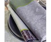 Плэйсмат 40x55 см, 100% хлопок с отталкивающим эффектом, цвет зелено-коричневый, серия La foret, GARNIER-THIEBAUT, Франция