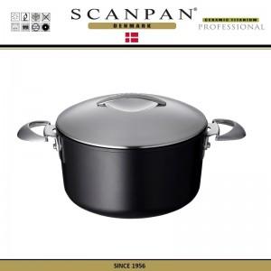 Антипригарная кастрюля Professional с крышкой, D 24 см, V 4 л, SCANPAN, Дания, арт. 48830, фото 3