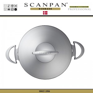 Антипригарная кастрюля Professional с крышкой, D 24 см, V 4 л, SCANPAN, Дания, арт. 48830, фото 4