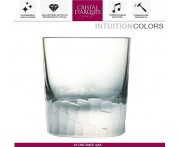 Низкий бокал INTUITION серый, 320 мл, Cristal D'arques, Франция