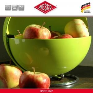 Контейнер для хранения Superball, D 26 см, цвет зеленый, сталь, Wesco, Германия, арт. 77104, фото 4